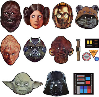 Star Wars Party Masken