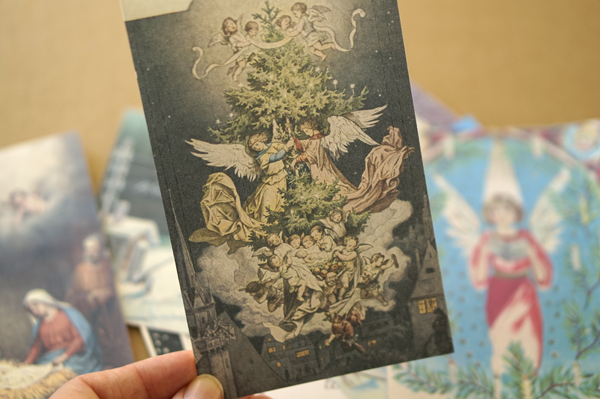 Nostalgische Weihnachtskarten Kostenlos.Paper Desc Nostalgie Weihnachtskarten Von 1900 Zum Ausdrucken