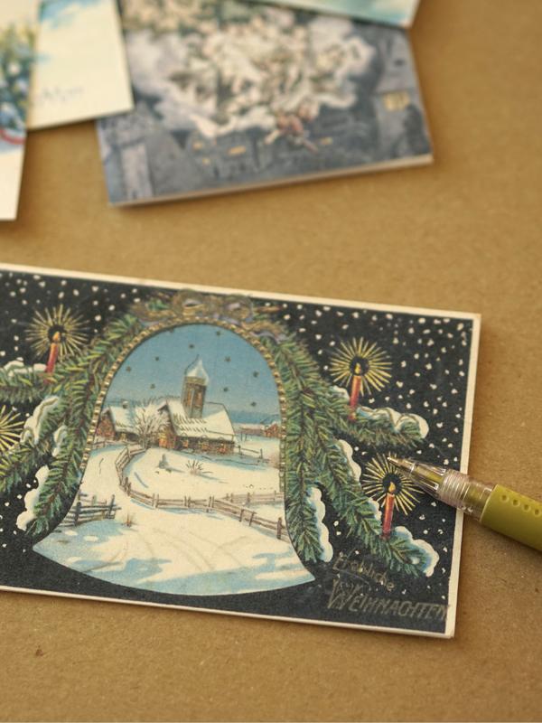 Nostalgische Weihnachtsbilder Kostenlos.Paper Desc Nostalgie Weihnachtskarten Von 1900 Zum Ausdrucken